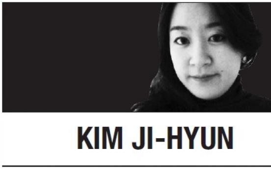 [Kim Ji-hyun] Looking forward, not back