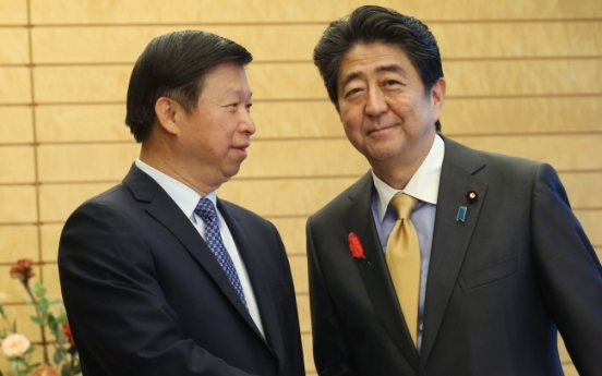 Japanese PM Abe to visit China in sign of improved relations