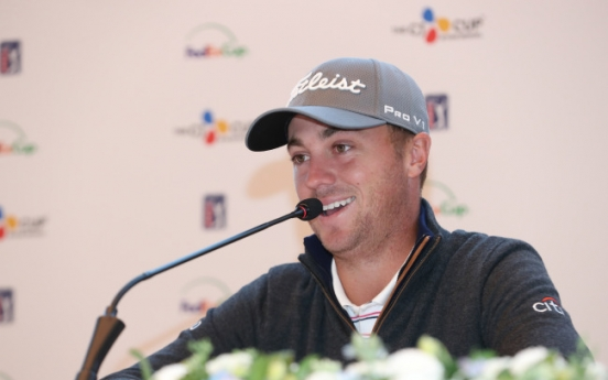 Justin Thomas bracing for another windy week in Korea