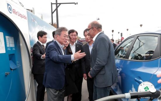 [팟캐스트] (269) 문재인 대통령 수소차 시승, 이병헌 시상식 우승