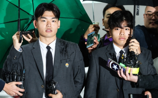 Lee brothers from The East Light talk to police in Media Line assault case