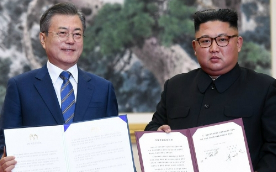 Pyongyang Declaration takes effect as controversy continues
