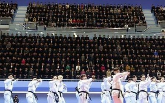 All-South Korean taekwondo demonstration team set for Pyongyang performance