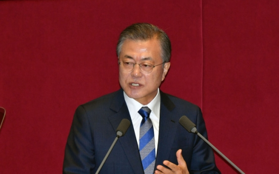 Moon calls for 'inclusive society' in budget speech