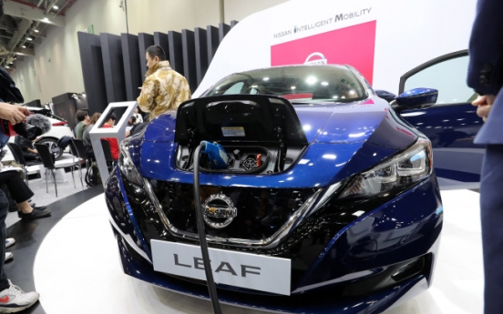Carmakers flock to Daegu for greener, self-driving auto industry
