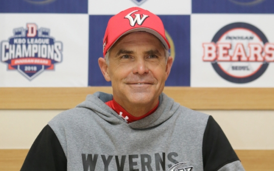 American manager relishes opportunity to play for Korean baseball title