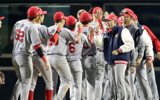 SK Wyverns rally past Doosan Bears to open Korean Series