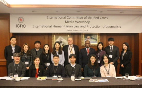 Humanitarian law workshop trains journalists for better protection