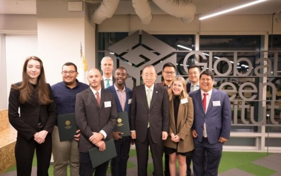 Young entrepreneurs win GGGI awards for innovative ideas on green growth