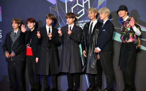 [Video] BTS on red carpet at 2018 MGA