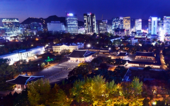 As night falls, Korea's ancient beauty comes to life at Deoksugung