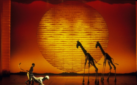 "[Herald Review] ""The Lion King"" brings grand spectacle to Korea"