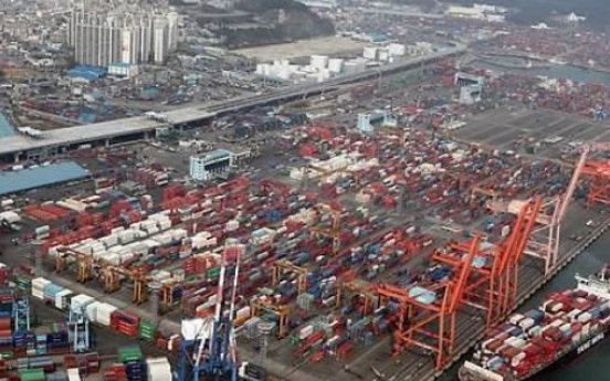 Korea's exports fall in first 10 days of Nov.