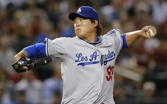 Ryu Hyun-jin to stay with Dodgers for 1 more year after