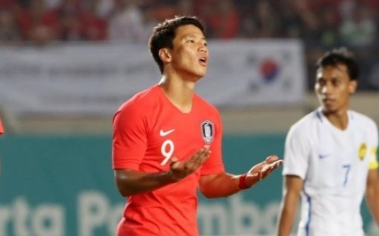 Injured forward Hwang Hee-chan cut from football friendly roster