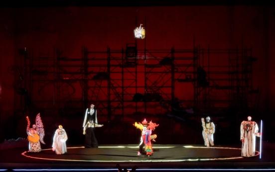 """Achim Freyer's """"Das Rheingold"""" kicks off 2-year journey"""