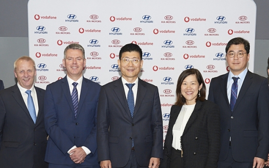 Hyundai-Kia to launch connected car services in Europe with Vodafone