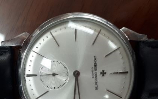[Newsmaker] Counterfeit luxury watch worn by high profile civil servant fuels controversy