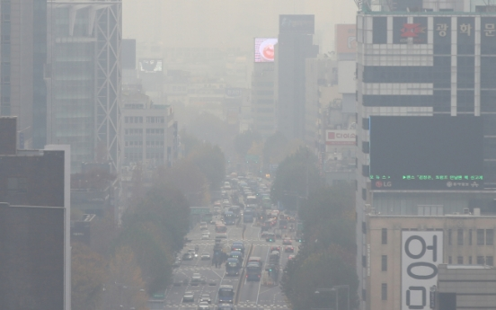 [Weather] 'Bad' levels of fine dust blanket nation