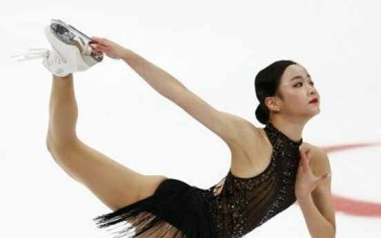 Teen figure skater becomes 1st Korean female since Kim Yu-na to win Grand Prix medal