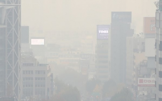 [Weather] Toxic haze from China hits Korean Peninsula