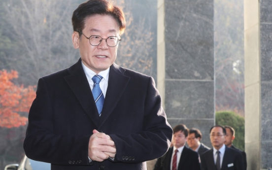 Gyeonggi governor denounces police for accusing wife of Twitter libel
