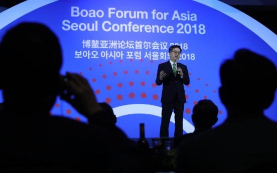 Korea's finance minister meets senior Chinese politician