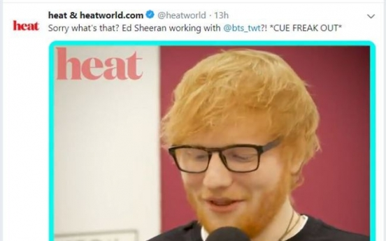 Ed Sheeran on BTS: 'I think they are great'