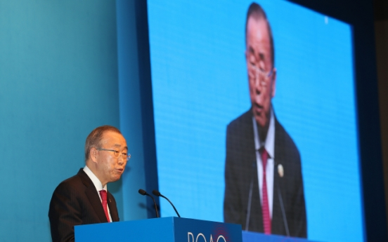 Business, political leaders of Korea, China urge Asia to stay open, innovative