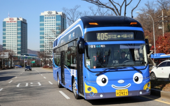 Seoul starts to run hydrogen-powered city bus