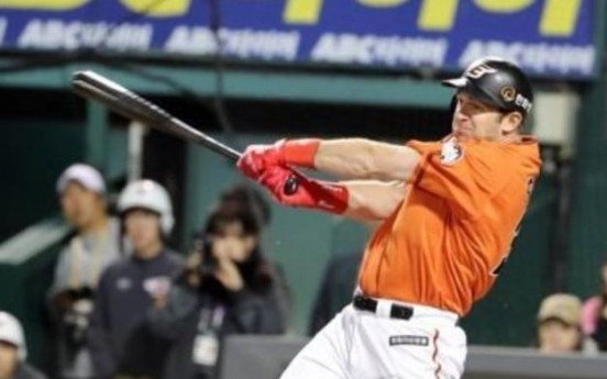 Hanwha Eagles re-sign slugging outfielder Hoying