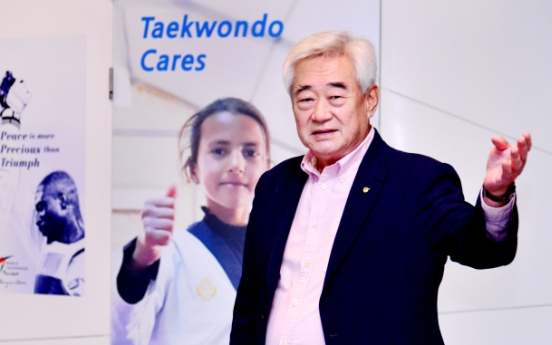 [Herald Interview] 'Taekwondo to spearhead bringing peace to Korean peninsula'