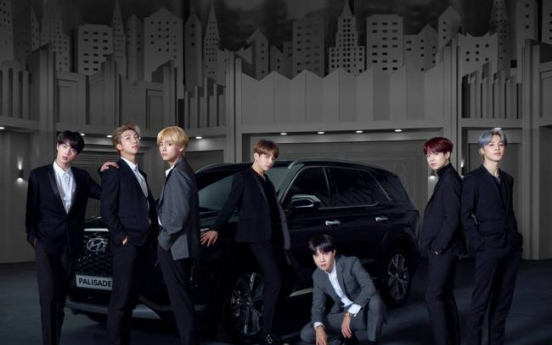 BTS named brand model for Hyundai Motors SUV Palisade