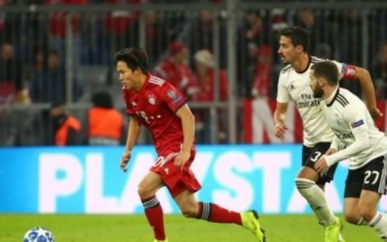 Teen football prospect makes Bayern Munich first-team debut in UEFA Champions League