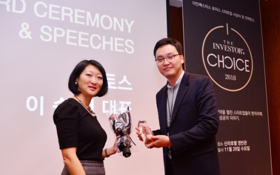 [Photo News] The Investor's Choice Award 2018 highlights innovative startups