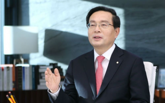 [Global Finance Awards] Woori Bank CEO all set for 'financial holding group' era