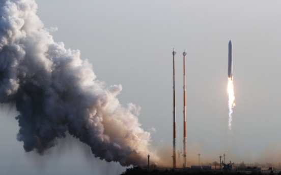 Korea successfully tests space rocket engine