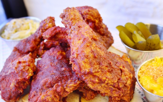 Nashville-style hot chicken at Brave Roosters