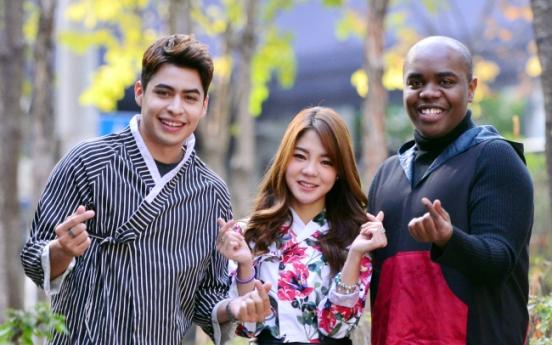 [Herald Interview] Foreign cultural diplomat team Hangeul promotes Korea