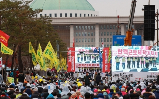 Protests set to cause heavy traffic in Seoul on Saturday