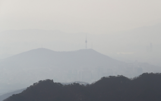 [Weather] Fine dust level peaks in capital, rain expected overnight