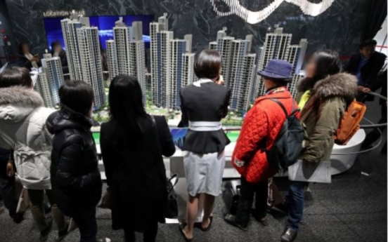 [News Focus] Seoul apartment prices face downhill after touching unprecedented ceiling