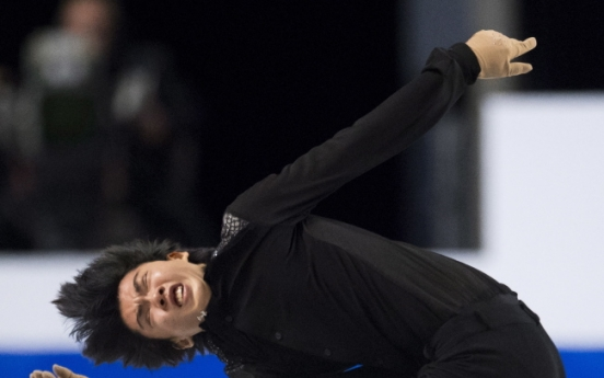 S. Korean figure skater Cha Jun-hwan wins bronze at Grand Prix Final
