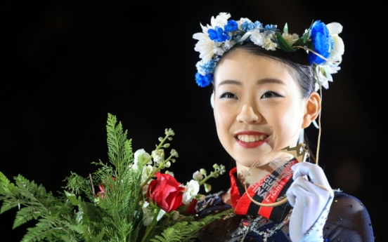 [Photo News] Japanese teen Rika Kihira wins gold in women's singles at Grand Prix Final