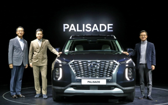 Palisade aims to take No. 1 in large SUV segment