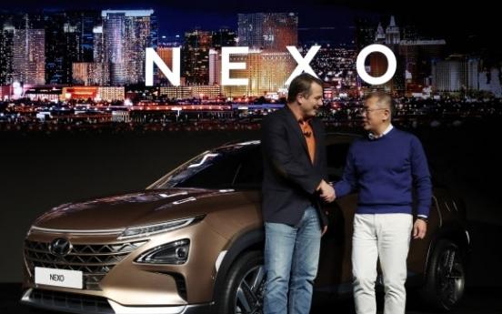 Hyundai Nexo among Euro NCAP's best rated cars in 2018