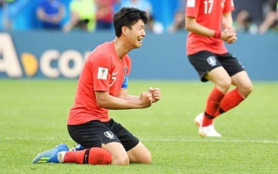 Son Heung-min wins fan vote for Korea's top goal in 2018