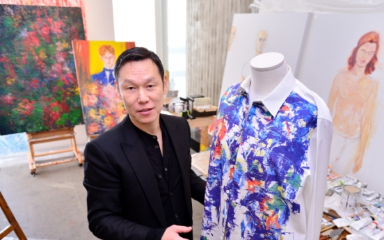 [Herald Interview] 'I do not paint to be an artist, but to make clothes'