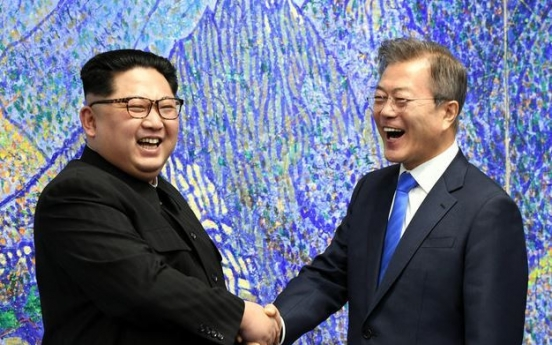 'Two Koreas should sign peace treaty when NK achieves 50 percent of denuclearization'
