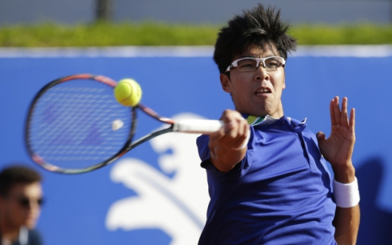 Chung Hyeon to kick off new season at exhibition tournament